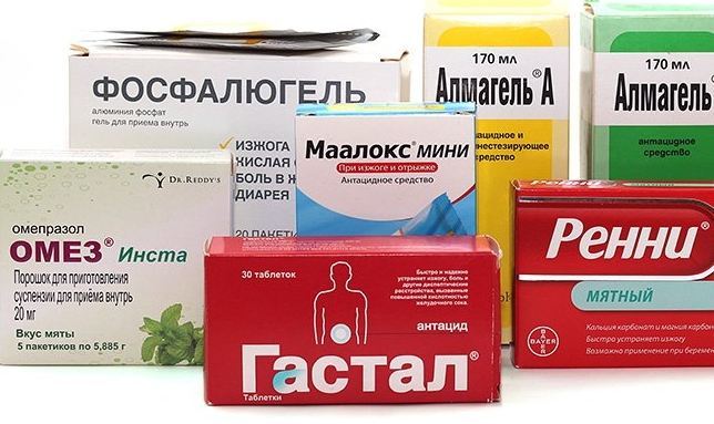 Какие лекарственные средства могут помочь при болях в желудке