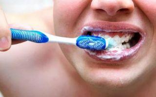 Почему тошнит когда чистишь зубы