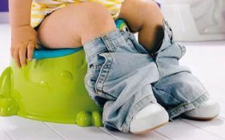 Диета при поносе и диарее у ребенка