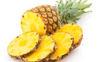 После ананаса жжет и щиплет язык