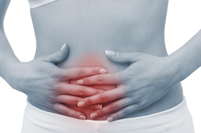сильные боли в области желудка