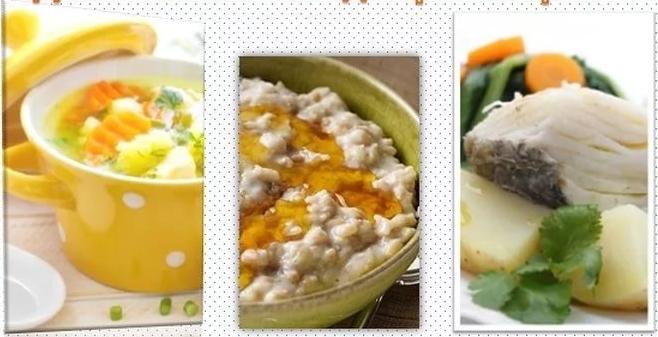 блюда при гастрите рецепты с фото