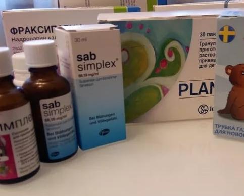 Лучшее средство от коликов у новорожденных описание лекарств