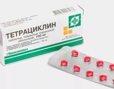 Таблетки от диареи тетрациклин