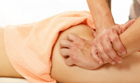 массаж при геморрое у женщин видео