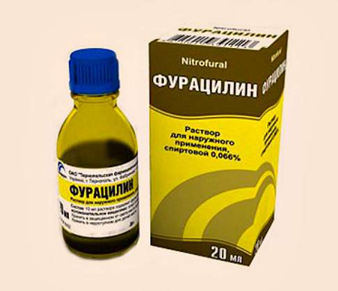 Фурацилин при полоскании рта при стоматите у детей и взрослых